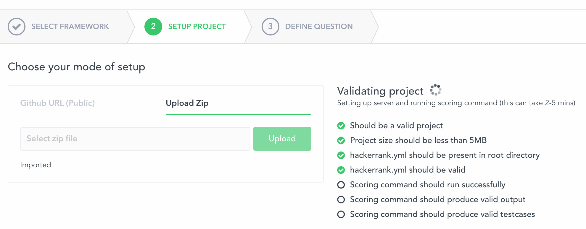 Creating a Role-based question – HackerRank Support Center