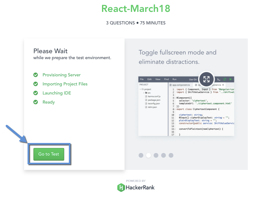 Taking a Role-based Assessment – HackerRank Support Center