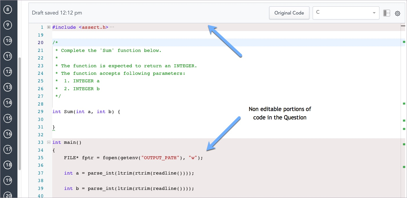 Answering Coding Questions – HackerRank Support Center